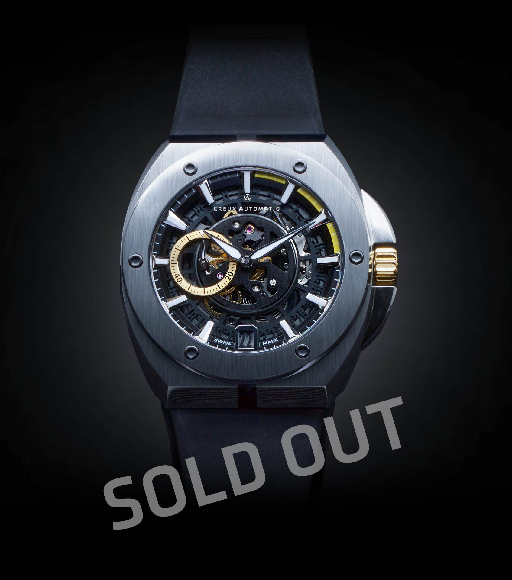 drv blue de gold potenza watch watches rose banner